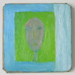 窓 2014 12.3 × 12.3 cm oil on canvas