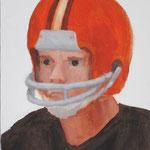Cleveland  acrylic on canvas 40.9 × 31.8 cm