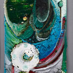 Untitled 2010 oil on canvas 34.0 × 19.5 cm
