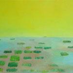 蜃気楼  oil on canvas 53.4 × 80.8 cm