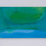 朧:Hazy  2008 oil on canvas 32.0 × 60.7 cm