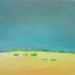 地平  oil on canvas 38.3 × 46.0 cm