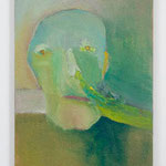 鼻水:Running nose  2005 oil on canvas 53.5 × 33.5 cm