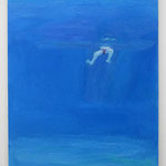 Float 2014 65.5 × 53.0 cm oil on canvas