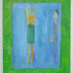 プール:Pool  oil on canvas 30.2 × 24.6 cm