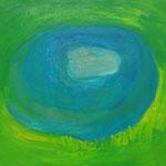 オアシス  oil on canvas 53.4 × 65.4 cm