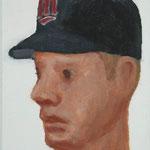 Minnesota  acrylic on canvas 22.7 × 15.8 cm