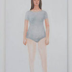 Leotard  acrylic on canvas 53.0 × 33.4 cm
