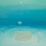ため息  oil on canvas 41.3 × 41.3 cm