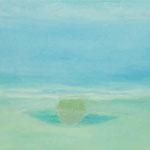 オアシス  oil on canvas 53.0 × 65.7 cm