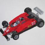 Ferrari  acrylic on canvas 37.9 × 45.5 cm