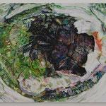 Stare oil on canvas 40.9 × 31.8 cm