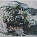 Burst oil on canvas 112.1 × 145.5 cm