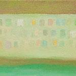 対岸  oil on canvas 19.3 × 33.5 cm
