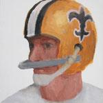 New Orleans  acrylic on canvas 40.9 × 31.8 cm