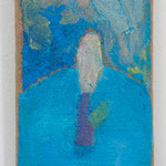 海原:Waterly Waste  2005 oil on canvas 21.0 × 13.2 cm