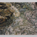 Surface #10 2004 oil on canvas 45.5 × 53.0 cm