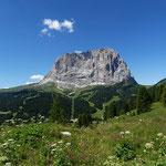 Langkofel (3181 m),   Dolomiten