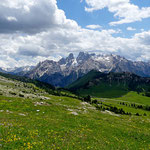 Plätzwiese mit Monte Cristallo (3221 m),  Dolomiten