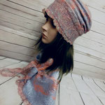 Комплект шляпка и бактус    70$