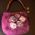 Сумка Розовый букет. $60