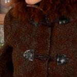 Пальто с воротником Альпака, на подкладке $250