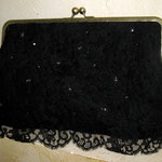 Чёрный гипюр   $48
