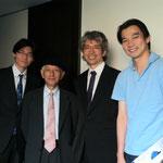 柳川市からお越しのKabashimaさんと、九響の原田哲男さん!