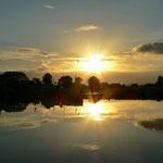 Sonnenuntergang im JH 't Verloreneind