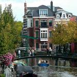 Brücke über den Oude Rijn