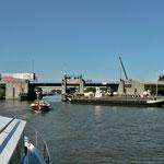 Auf dem Van Harinxma Kanaal, Richtung Franeker