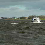 Auf dem Ijsselmeer Richtung Kettelbrug
