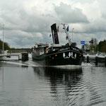 Ehemaliges  Frachtschiffe, jetzt Flusskreuzfahrtschiff