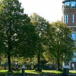 Ehemaliger Wasserturm als Bürogebaüde