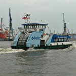 Eine von vielen Schnellfähren