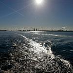 Auf dem Noordzeekanaal