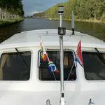 Van Starkenborgh Kanaal  Richtung Groningen