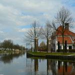 Auf dem Haarlemmer Trekvaart