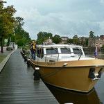 Der Meldesteiger in Alkmaar