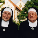 Die letzten Schwestern in Hördt: Sr. Eusebia und Sr. Expedita.