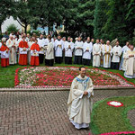 Neupriester Marco Gabriel bei seiner Primiz 2008