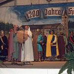 Beim Festakt zur 1200Jahrfeier 1980