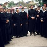 Bereit für den Festakt zur 1200Jahrfeier 1980