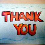 由學生送給本會的Thank you card
