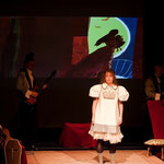 "The show for children ""Mama Lucinda"" 2009 - Kornel, Mireille & Koen"