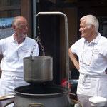 W. Lerch und E. Schaffer am Chilitopf
