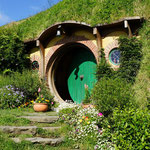 Bilbos and Frodos House, Hobbiton, Matamata