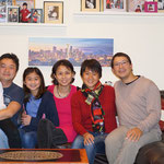 My cousin´s family, Seattle