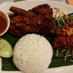 Reis mit Beilagen