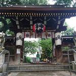 Tempeleingang in Fukuoka